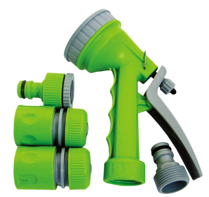 4pc Plastic hose nozzle set