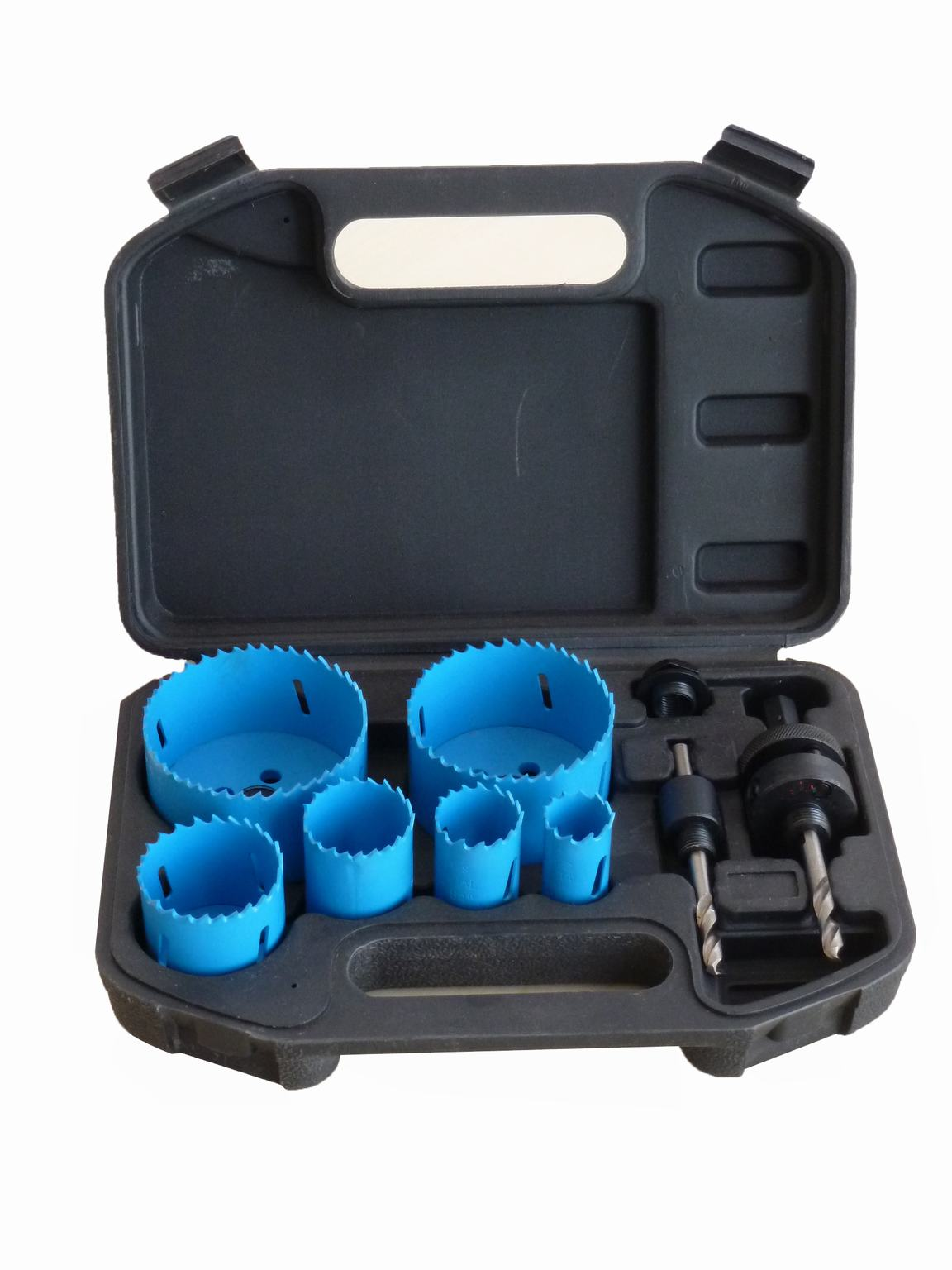 10 PCS Bi-Metal Hole Saw Set Kit