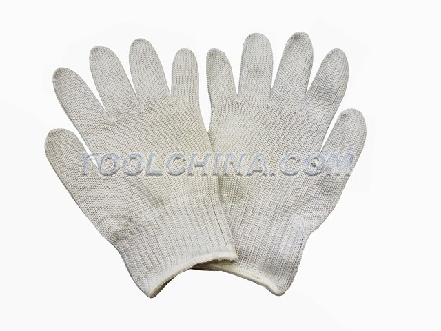 Satety Gloves, Stainless steel wire