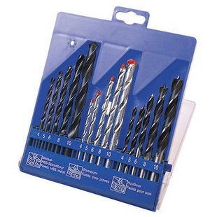 15 PCS COMBINATION DRILL SET