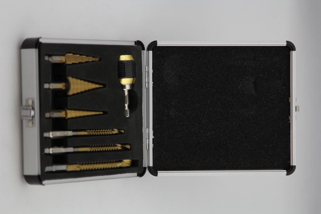 7PCS STEP & SAW DRILL SET